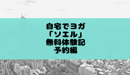 オンラインヨガソエルの無料体験を受けた感想(ヨガ初心者)
